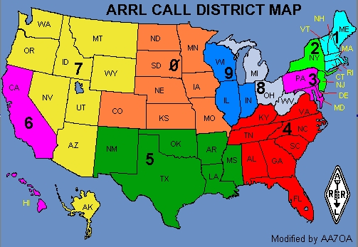 Amrron regionalnational nets amrron the 20m voice net calls check ins by district gumiabroncs Choice Image