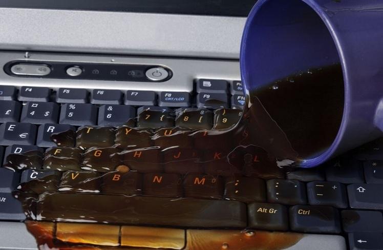 Keyboard caffine